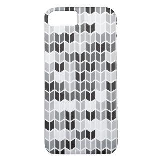 Grey Geometric Pattern iPhone 8/7 Case