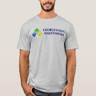 Grey - Georgetown Anesthesia T-Shirt