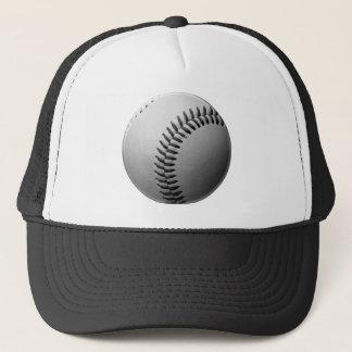 Grey / Gray baseball Trucker Hat