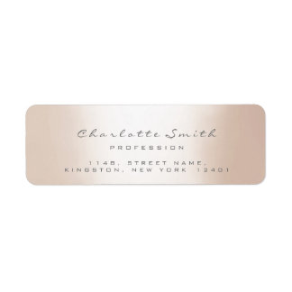 Grey Gray Ivory Name RSVP Profession Event Planner