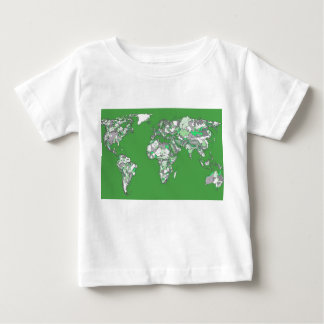 Grey green atlas tee shirt