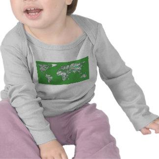 Grey green atlas t shirt