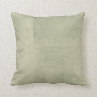 Grey Green Distressed Throw Pillow