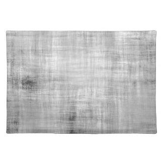 Grey Grunge Textured Placemat