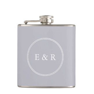 Grey Harbour Mist - Spring 2018 London Trends Hip Flask