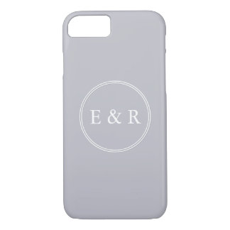 Grey Harbour Mist - Spring 2018 London Trends iPhone 8/7 Case