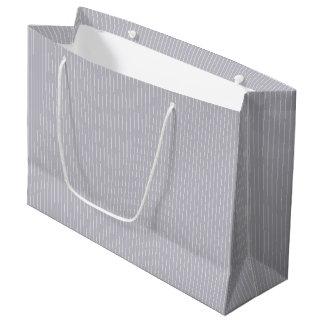 Grey Harbour Mist - Spring 2018 London Trends Large Gift Bag