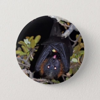 Grey-Headed Flying Fox 2 Inch Round Button