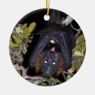 Grey-Headed Flying Fox Ceramic Ornament