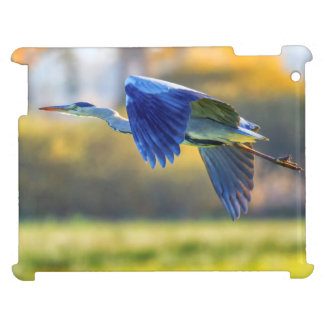 Grey heron, ardea cinerea iPad covers