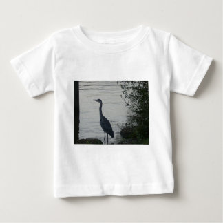 Grey Heron on Thames Baby T-Shirt