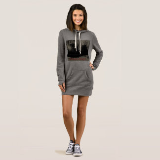 Grey Hoodie Sweatshirt Ultimate Designz Dress NY