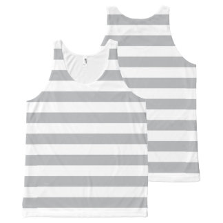 Grey Horizontal Stripes