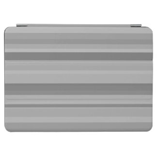Grey horizontal stripes iPad air cover