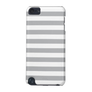 Grey Horizontal Stripes iPod Touch (5th Generation) Case