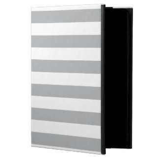 Grey Horizontal Stripes Powis iPad Air 2 Case