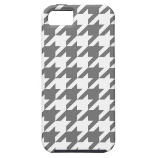 Grey Houndstooth Case For The iPhone 5