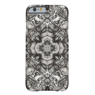 Grey Kaleidoscope Barely There iPhone 6 Case