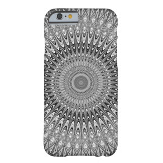 Grey mandala barely there iPhone 6 case