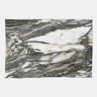 Grey marble kitchen towels