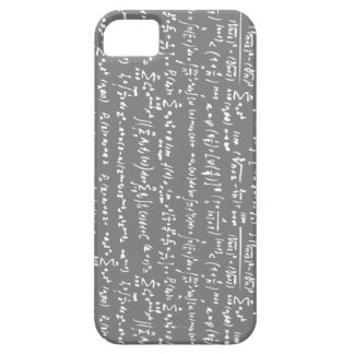Grey Math Equations iPhone 5 Case
