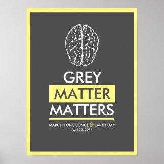 Grey Matter Matters Poster