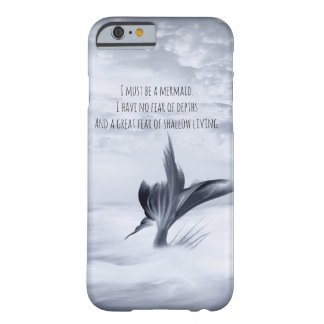 Grey Mermaid Shallow living Barely There iPhone 6 Case