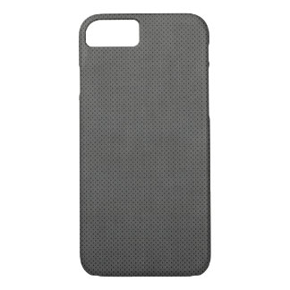 Grey Metal on iPhone 7 case