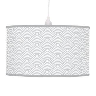 Grey Modern Wave Pendant Lamp