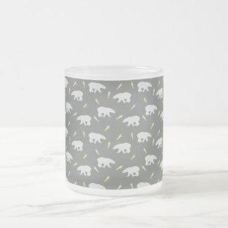 Grey Mug with sweet little Polar Bears