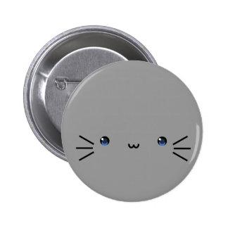grey neko button