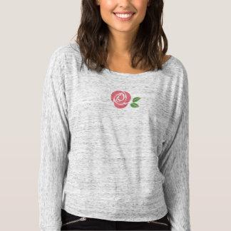 Grey Off-shoulder Shirt