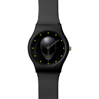 Grey on Black Watch
