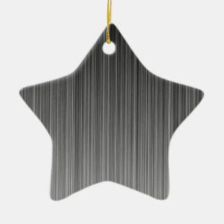 Grey Christmas Tree Ornament