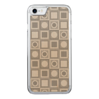 Grey Ornament Carved iPhone 8/7 Case