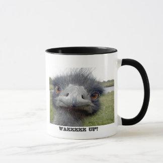 Grey Ostrich Mug