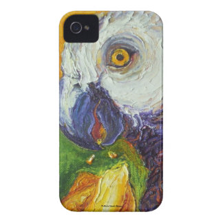 Grey Parrot & Juicy Mango Blackberry Case