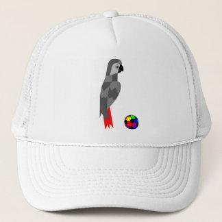 Grey Parrot Trucker Hat