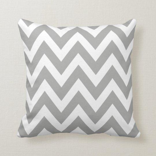 Grey Pattern Pillow