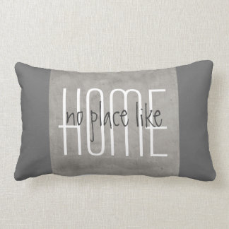 grey pillow with quote home decor
