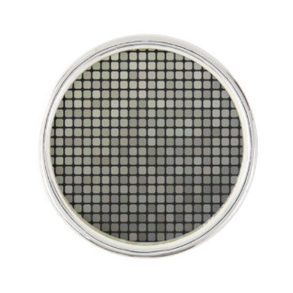 Grey Pixel Art Lapel Pin