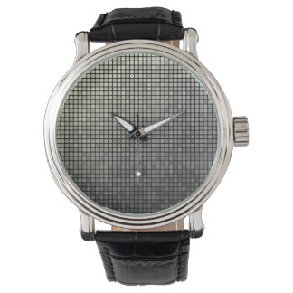 Grey Pixel Art Watch