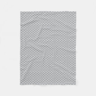 Grey polka dots blanket