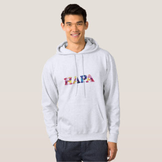 Grey Rainbow Hapa Men's Sweatshirt