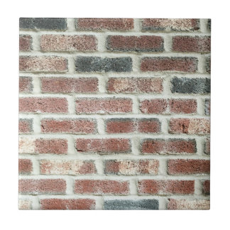 Grey Red Bricks Wall Background Brick Texture Tile