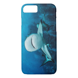 Grey Reef Shark on the Great Barrier Reef iPhone 7 Case
