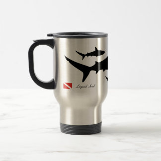 Grey Reef Shark - Travel Mug