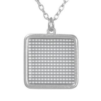 Grey Retro Style Pattern - Weddings Custom Jewelry