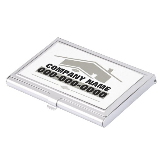 Grey Roof Business Card Case