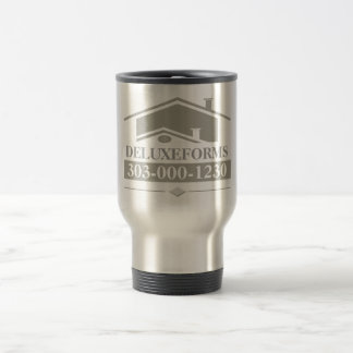 Grey Roof Travel Mug